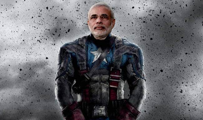 Avengers:  Age of Ultron – what if Narendra Modi, Amit Shah and co. were part of the Avengers?