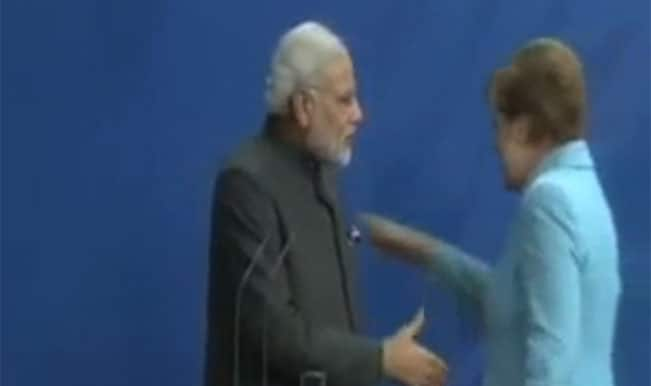 Insulting! When German Chancellor Angela Merkel ignored a handshake with PM Narendra Modi?