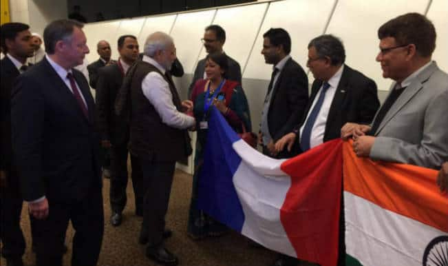 Narendra Modi in France: India expects 'movement' to seal Rafale deal with France