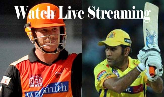 Chennai Super Kings vs Sunrisers Hyderabad, IPL 2015: Watch Free Live Streaming and Telecast of CSK vs SRH on Star Sports Online