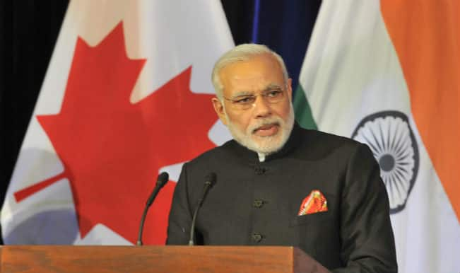 Narendra Modi heads home after three-nation tour
