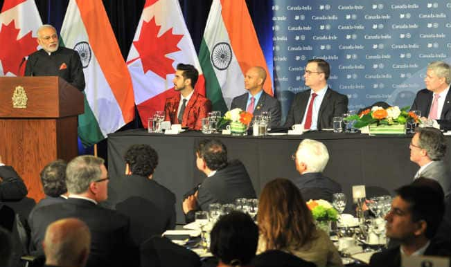 Visit will enhance India, Canada ties: Narendra Modi