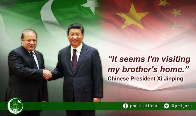 China-Pakistan relations: Chinese Prez Xi Jinping set to sign USD 46 billion CPEC deal on Pakistan visit