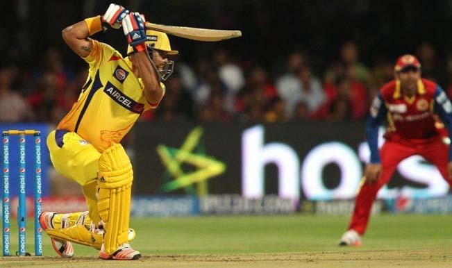 Chennai Super Kings sets a target of 182 runs for Royal Challengers Bangalore