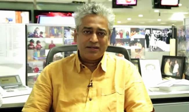 Rajdeep Sardesai slams Giriraj Singh, asks if Narendra Modi-government lacks talent? — Watch video