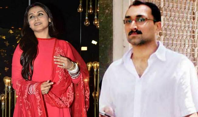 Rani mukerji and aditya chopra wedding anniversary news latest