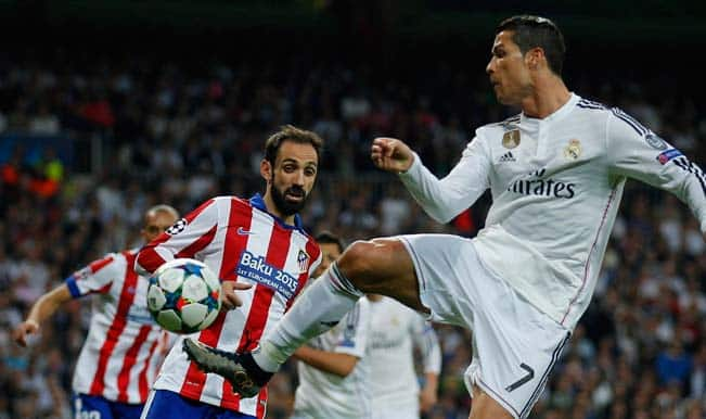 Real Madrid vs Atletico Madrid: Carlo Ancelotti and Diego Simeone proud of their team's performance in UEFA Champions League 2014-15 quarterfinal clash