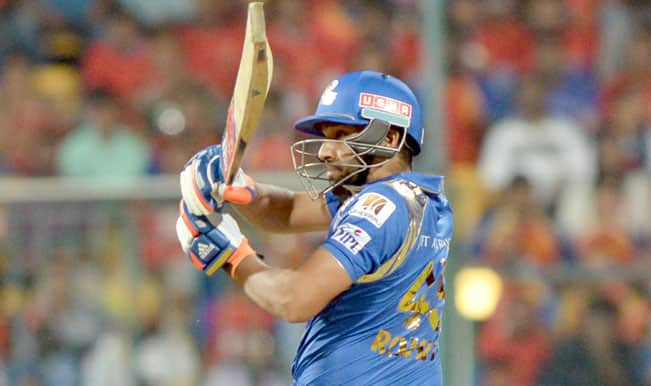 Mumbai Indians skipper Rohit Sharma: We were positive throughout against RCB