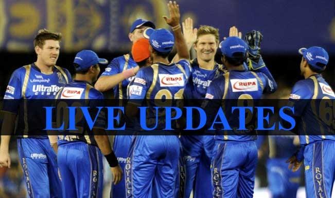 Match called off due to rain | Live Cricket Score Updates Royal Challengers Bangalore vs Rajasthan Royals, IPL 2015: RCB vs RR