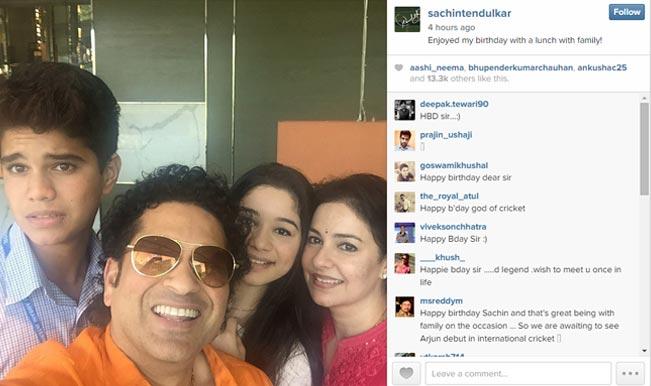 Sachin Tendulkar debuts on Instagram: Master blaster thanks fans for birthday wishes!