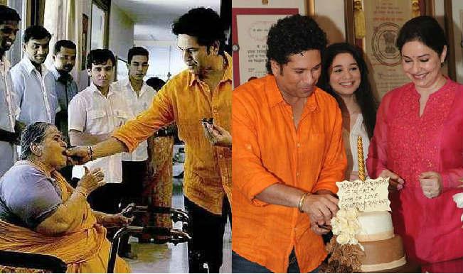 Sachin Tendulkar Birthday Pics: God of Cricket celebrates his Birthday with family