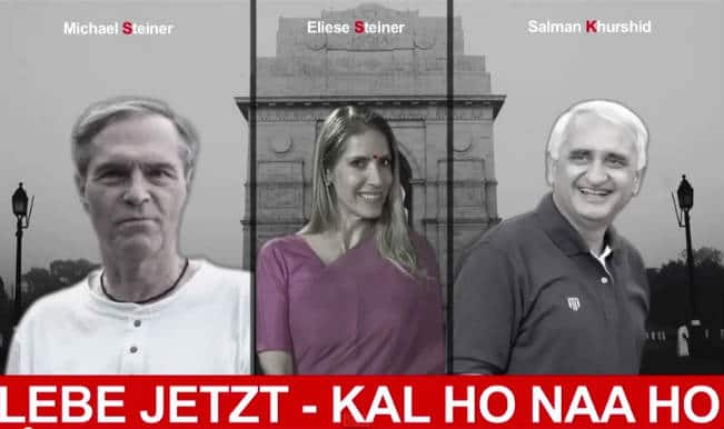 Salman Khurshid plays Saif Ali Khan in German version of 'Kal Ho Naa Ho'