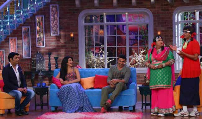 Comedy Nights With Kapil: Akshay Kumar and Shruti Hassan promote 'Gabbar Is Back'