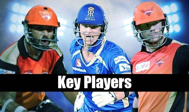 Sunrisers Hyderabad vs Rajasthan Royals, IPL 2015, 11th Match: 5 key players to watch out for in SRH vs RR match