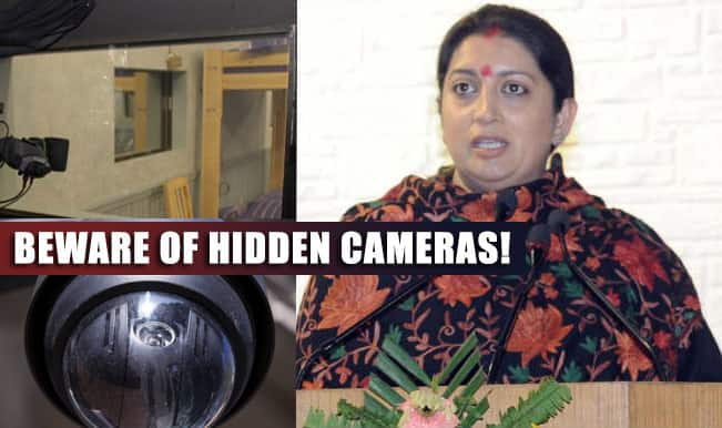 Smriti Irani spots hidden camera at Fabindia outlet; Here are ways you can find a secret camera in a trial room