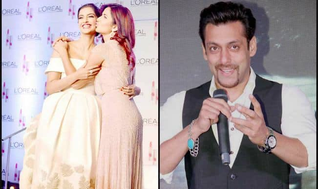 OMG! Katrina Kaif kisses Sonam Kapoor, Salman Khan sings for Hero & Bipasha Basu does a free pole dance!