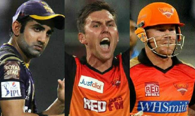 Sunrisers Hyderabad Vs Kolkata Knight Riders, IPL 2015, 19th Match: Gautam Gambhir, Trent Boult among 5 key players for SRH vs KKR clash