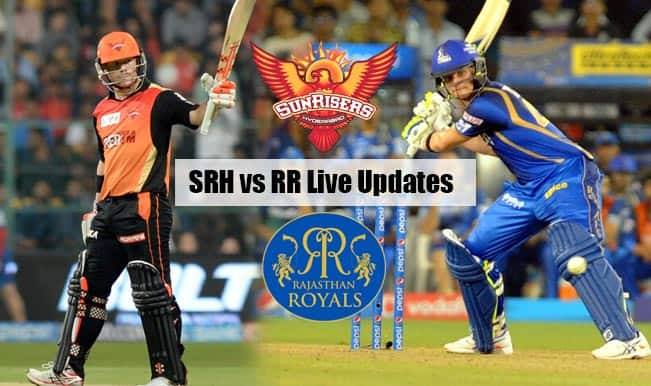 RR won by 6 wickets | Live Cricket Score Updates Sunrisers Hyderabad vs Rajasthan Royals, IPL 2015: Ajinkya Rahane awarded Man of the Match