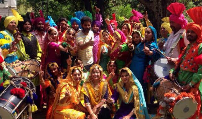Singh Is Bling: Birthday boy Prabhu Deva shares behind the scenes pictures!