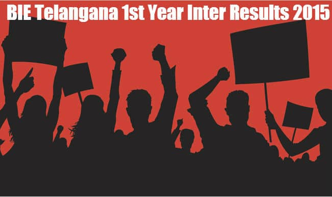 BIE Telangana 1st Year Inter Results 2015: Check TS Inter Results at bie.telangana.gov.in