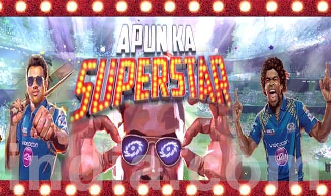 Mumbai Indians IPL 2015 theme song: #ApunKaSuperstar #MI will surely win your hearts!