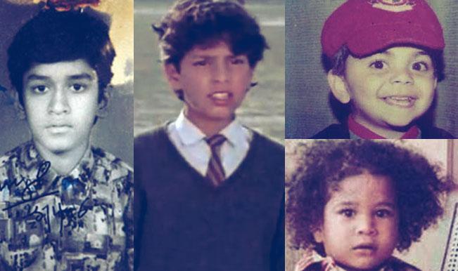 Childhood Pics of Cric...