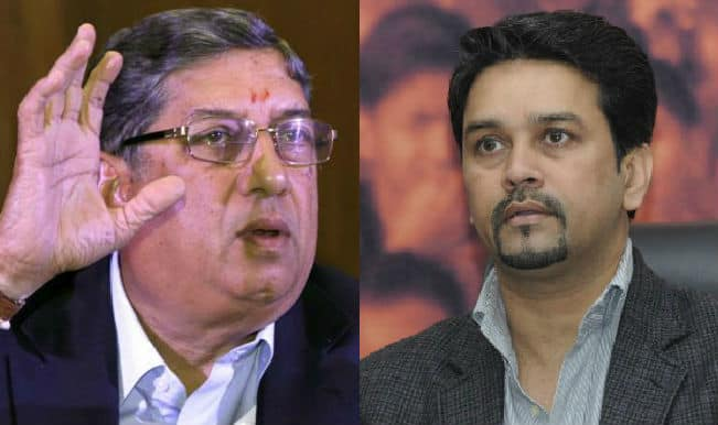 Anurag Thakur writes Open Letter to N Srinivasan: Asks him to share list of unverified suspected bookies!