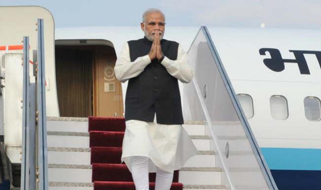 स्वदेश लौटे प्रधानमंत्री नरेंद्र मोदी