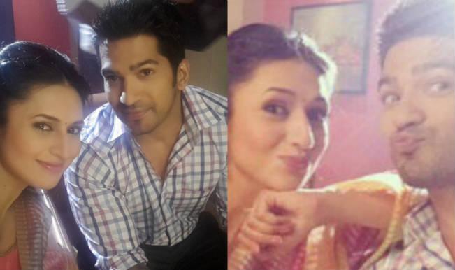 Yeh Hai Mohabbatein: Divyanka Tripathi welcomes Amit Tandon on the show with adorable selfies!
