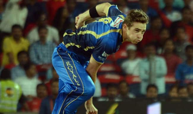 IPL 2015: RR pacer Tim Southee eyes early CSK wickets