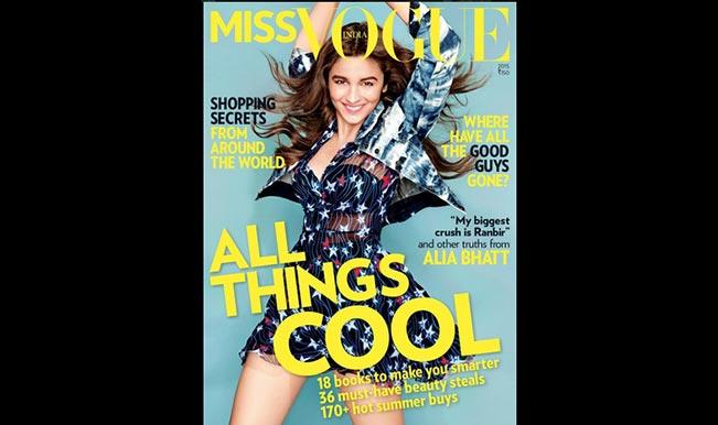 Miss Vogue Alia Bhatt talks about Sidharth Malhotra and her secret crush (Watch Video)