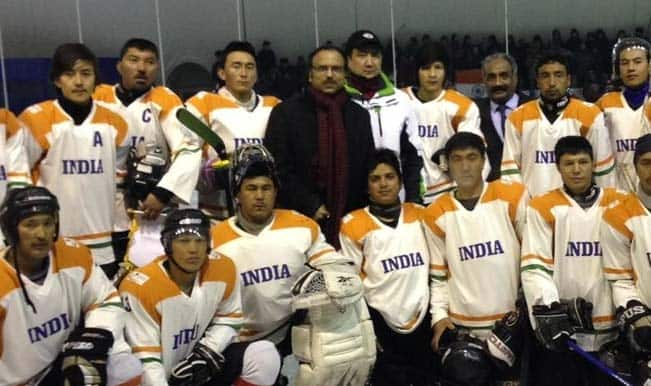 Indian Ice Hockey team pleads for funds to participate in 2015 IIHF Ice Hockey Challenge Cup of Asia