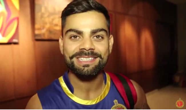 Virat Kohli and Chris Gayle party hard celebrating RCB's win over KKR! Watch video