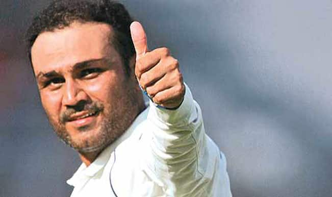 Batting with Sachin Tendulkar is like walking in the forest with a lion, you feel invincible: Virender Sehwag