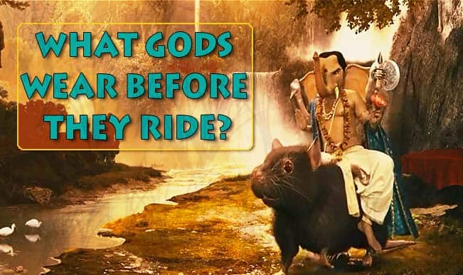 Find out what Gods wear before they set out for a ride! Best commercial on traffic safety rules! (Watch Video)