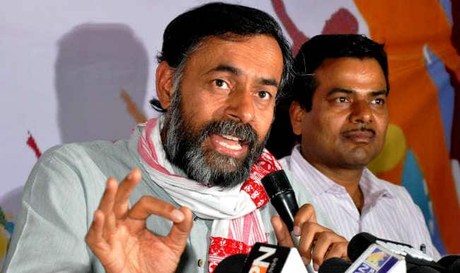 AAP rebels hold Swaraj Samwad – dialogue on alternative politics; 'Day for new beginning', says Yogendra Yadav