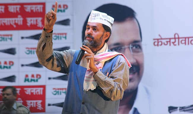 AAP crisis: Yogendra Yadav drums up support for April 14 convention