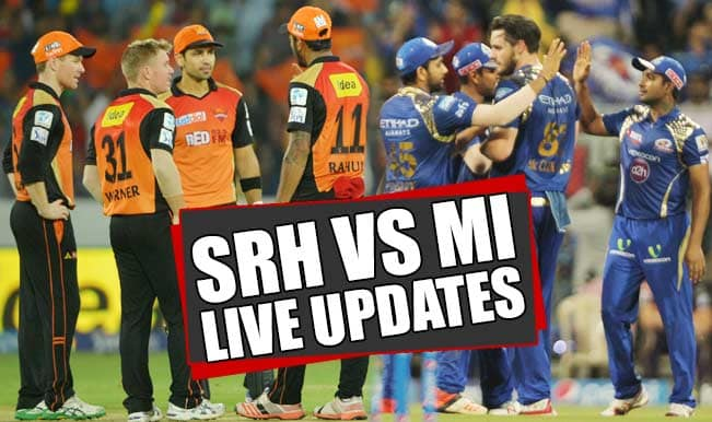 MI won by 9 wickets | Live Cricket Score Updates Sunrisers Hyderabad vs Mumbai Indians, IPL 2015: Mitchell McClenaghan awarded Man of the Match