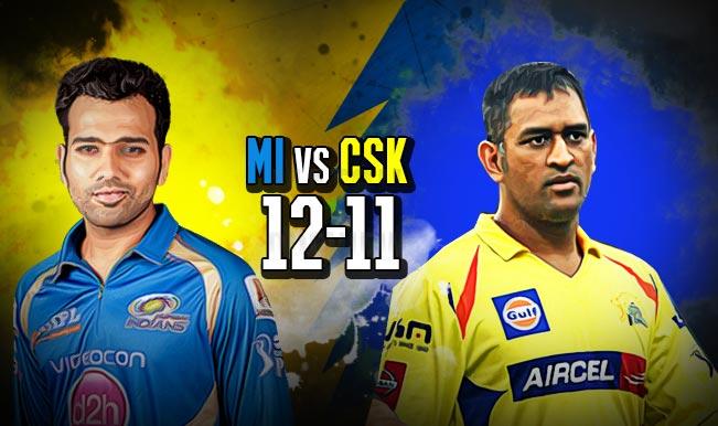 Mumbai Indians vs Chennai Super Kings IPL 2015 Final Prediction: Results of all MI vs CSK matches played so far