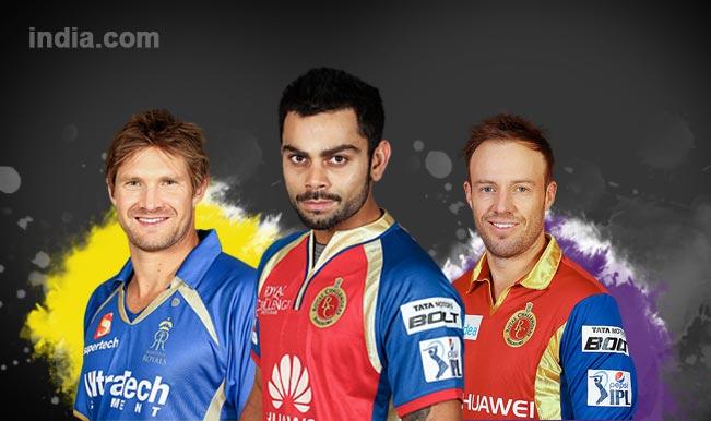 Royal Challengers Bangalore vs Rajasthan Royals, IPL 2015 Eliminator Match: Virat Kohli, Shane Watson among five key players in RCB vs RR clash