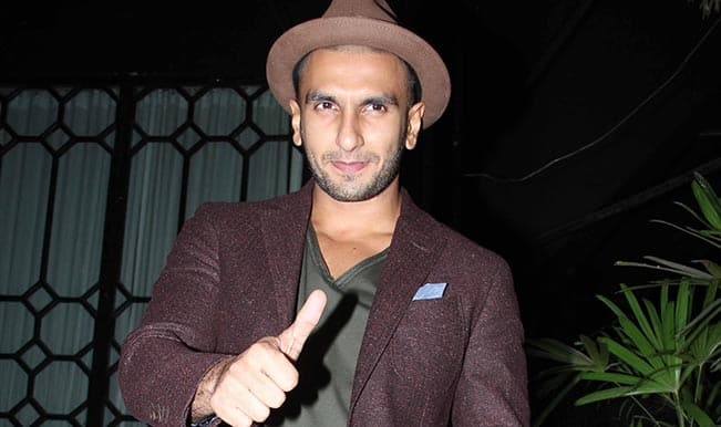 Ranveer Singh: Nothing better than to feed a child