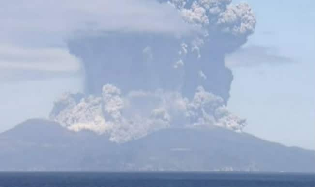 Japanese volcano calm for now: weather agency