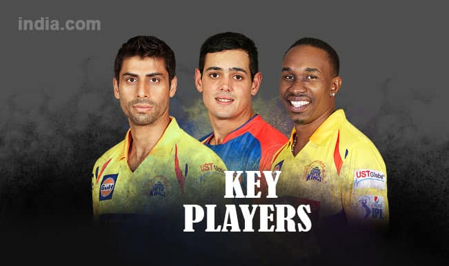 Delhi Daredevils vs Chennai Super Kings, IPL 2015, Match 49: Ashish Nehra, Quinton de Kock in five key players for DD vs CSK clash