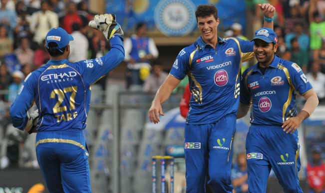 IPL 2015: Mumbai Indians pull-off 8-run victory over Rajasthan Royals