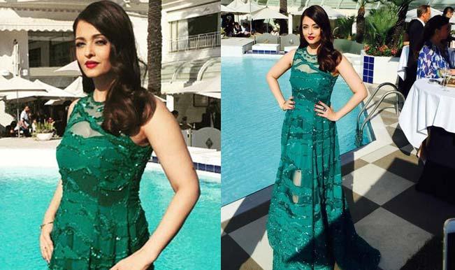 Cannes 2015: Aishwarya Rai Bachchan is magical in sparkling green! (View pics)