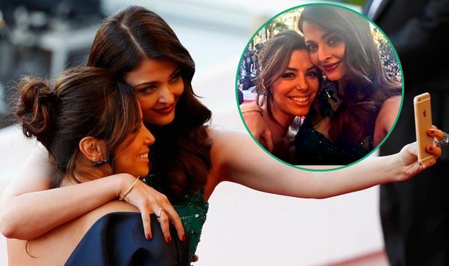 Cannes 2015: Aishwarya Rai Bachchan or Eva Longoria-who is more beautiful in this selfie?