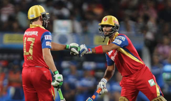 IPL 2015: AB de Villiers to gift Man of the Match award to Mandeep Singh