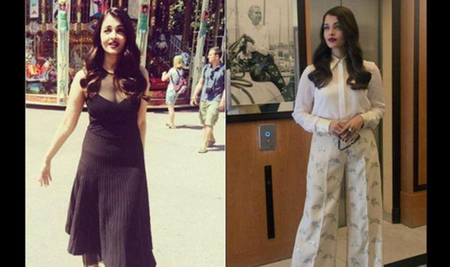 Aishwarya Rai Bachchan's two new looks at Cannes 2015: Stylish black and classy white!