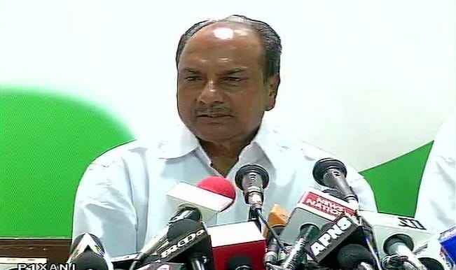 Narendra Modi-government compromised on national security: A K Antony