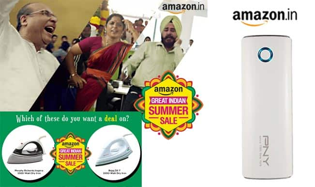 Amazon Great Indian Summer Sale: Heavy discounts on electronics and clothing; buy Apple iPhone 5c at Rs 19,990 & Samsung Galaxy S4 at Rs 16,499
